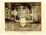 1 vue Chateau de Richemont (Ain). Plan du rez-de-chaussee / Robert Danis.