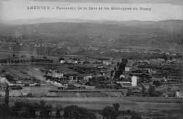1 vue  - Panorama de la Gare et les montagnes du Bugey (ouvre la visionneuse)