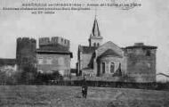 1 vue  - Abside de l'église et les tours (ouvre la visionneuse)