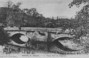 1 vue  - Environs de Belley - le vieux pont de Bognens (ouvre la visionneuse)