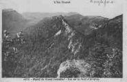 1 vue  - Massif du Grand Colombier - vue sur la forêt d'Arvières (ouvre la visionneuse)