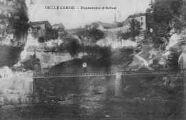 1 vue  - Bellegarde -passerelle d'ARLOD (ouvre la visionneuse)