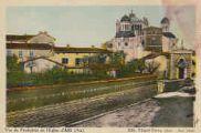1 vue  - vues du Presbytère et de l'Eglise d'Ars (ouvre la visionneuse)