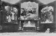 1 vue  - intérieur de l'Eglise provisoire, 4 Août 1905 (ouvre la visionneuse)