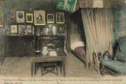 1 vue  - intérieur de la chambre, lit de mort M. Vianney, Curé d'Ars, (ouvre la visionneuse)