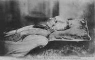 1 vue  - portrait authentique du bienheureux sur son lit de mort (1859) (ouvre la visionneuse)