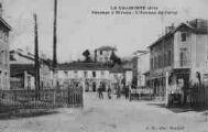 1 vue  - la Valbonne - passage à niveau -avenue du camp (ouvre la visionneuse)