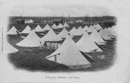 1 vue  - camp de la Valbonne - les tentes (ouvre la visionneuse)