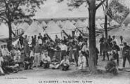1 vue  - la Valbonne - vue des tentes - la soupe (ouvre la visionneuse)