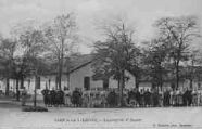 1 vue  - camp de la Valbonne - logement du 2e Zouave (ouvre la visionneuse)