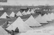 1 vue  - La Valbonne - Vue des tentes (ouvre la visionneuse)