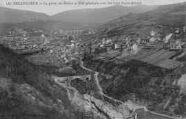 1 vue  - la perte du Rhône et vue générale avec les 3 ponts (hiver) (ouvre la visionneuse)