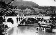 1 vue  - Rhône - viaduc routier de Savoie (ouvre la visionneuse)