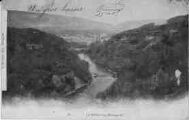 1 vue  - le Rhône sous Bellegarde (ouvre la visionneuse)