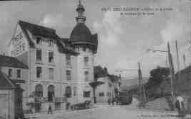 1 vue  - hôtel de la Poste et avenue de la Gare (ouvre la visionneuse)
