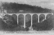 1 vue  - viaduc du tramway de Bellegarde à Chézery, sur la Valserine (ouvre la visionneuse)
