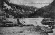1 vue  - la perte du Rhône et barrage des forces motrices (ouvre la visionneuse)