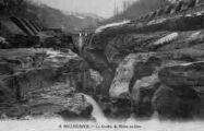1 vue  - le gouffre du Rhône en hiver (ouvre la visionneuse)