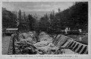 1 vue  - la perte du Rhône vue depuis le barrage (ouvre la visionneuse)