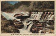 1 vue  - les barrages de la perte du Rhône en automne (ouvre la visionneuse)