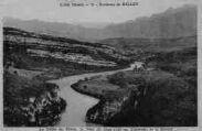 1 vue  - le défilé du Rhône, le Dent du Chat, et le Revard (ouvre la visionneuse)