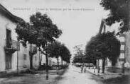 1 vue  - entrée de Bellignat par la route d'Oyonnax (ouvre la visionneuse)