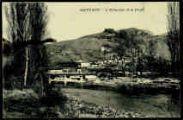 1 vue  - L'Albarine et le Pont (ouvre la visionneuse)