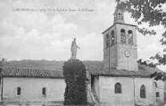 1 vue  - la Vieille Eglise et Statue de la Vierge (ouvre la visionneuse)