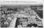 1 vue  - vue panoramique, au premier plan l'école Carriat (ouvre la visionneuse)