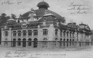 1 vue  - halle aux grains et théâtrea voyagé le 29/02/1901 (ouvre la visionneuse)