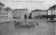 1 vue  - place Grenette et statue de Bichat (ouvre la visionneuse)