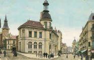 1 vue  - l'Hôtel des Postes et avenue Alsace-Lorraine (ouvre la visionneuse)