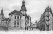 1 vue  - Postes et Télégraphes -avenue Alsace-Lorraine - temple prostestant (ouvre la visionneuse)