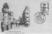 1 vue  - l'Hôtel des Postes vers 1900 après la Percée (ouvre la visionneuse)