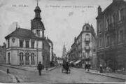 1 vue  - la Poste et l'avenue Alsace-Lorraine (ouvre la visionneuse)