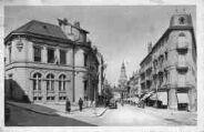 1 vue  - avenue Alsace-Lorraine - Poste et église Notre-Dame (ouvre la visionneuse)
