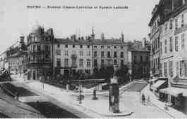 1 vue  - avenue Alsace-Lorraine et square Lalande (ouvre la visionneuse)