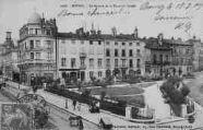 1 vue  - square Lalande et la place du Greffe (ouvre la visionneuse)