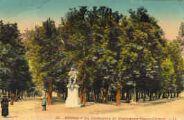 1 vue  - le Quinconce et monument Edgar Quinet (ouvre la visionneuse)