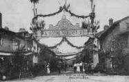 1 vue  - retour du 23e régiment d'Infanterie, 10 août 1919 rue Charles Robin (ouvre la visionneuse)