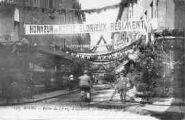 1 vue  - retour du 23e régiment d'Infanterie, 10 août 1919 rue Mercière (ouvre la visionneuse)