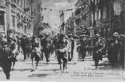 1 vue  - retour du 23e régiment d'Infanterie, 10 août 1919 le défilé avenue Alsace-Lorraine (ouvre la visionneuse)