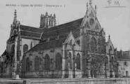 1 vue  - église de Brou - ensemble (ouvre la visionneuse)
