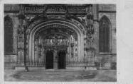 1 vue  - église de Brou - portail principal (ouvre la visionneuse)