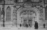 1 vue  - portail de l'église de Brou (ouvre la visionneuse)