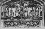 1 vue  - église de Brou - détails du grand portail (ouvre la visionneuse)
