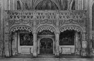 1 vue  - église de Brou - le jubé (ouvre la visionneuse)