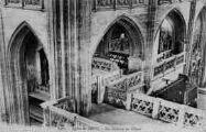 1 vue  - église de Brou - les galeries du choeur (ouvre la visionneuse)