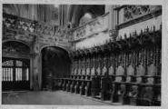 1 vue  - église de Brou - les stalles du choeur (ouvre la visionneuse)