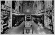 1 vue  - église de Brou - la nef, vue du choeur (ouvre la visionneuse)